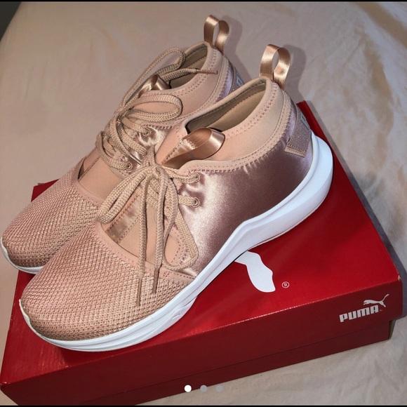 Puma x Selena Gomez phenom low satin sneakers
